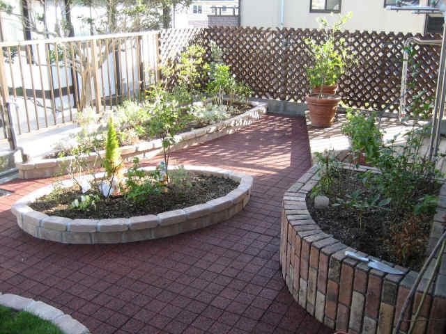 個人住宅 ルーフバルコニー緑化